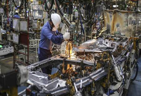 India's eight core industries May production rises over 16% YoY (Lead)