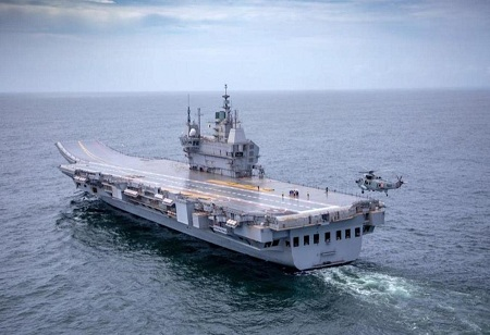 Making of The First Made in India Aircraft Carrier