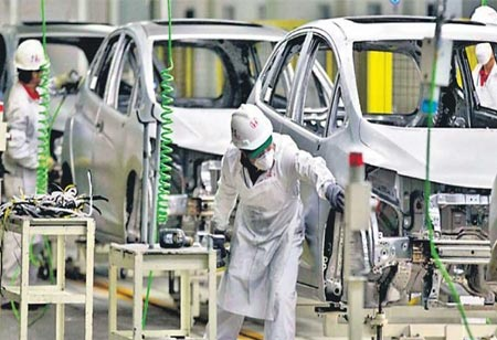 India's Manufacturing Activities Observed To Be The Highest In Eight Years In 2020