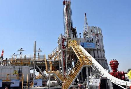 Megha Engineering's very first Make in India oil rig sets in operation