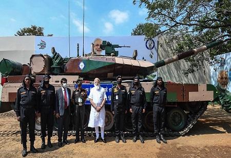 Tamil Nadu Evolving as Tank Manufacturing Hub: PM