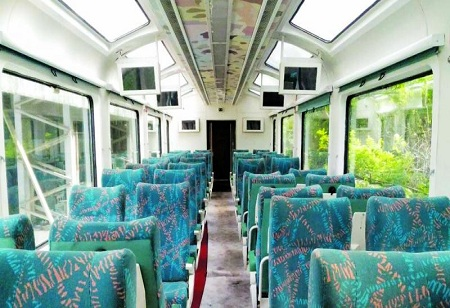 Speed Trial of Vistadome Tourist Coaches Completed by Indian Railway