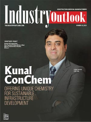 Kunal ConChem: Offering Unique Chemistry For Sustainable Infrastructure Development