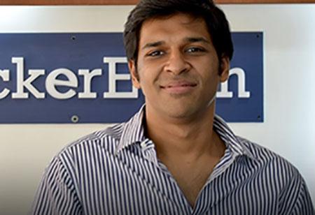 Sachin Gupta, Co-Founder & CEO, HackerEarth