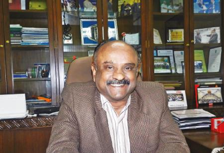 Vinod Padmanabhan, Director of Manufacturing Operations, Raymond Ltd.