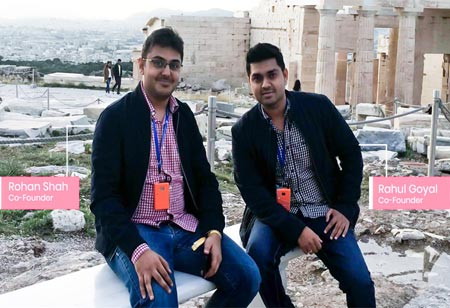 Rahul Goyal and Rohan Shah, Co-Founders, Realatte